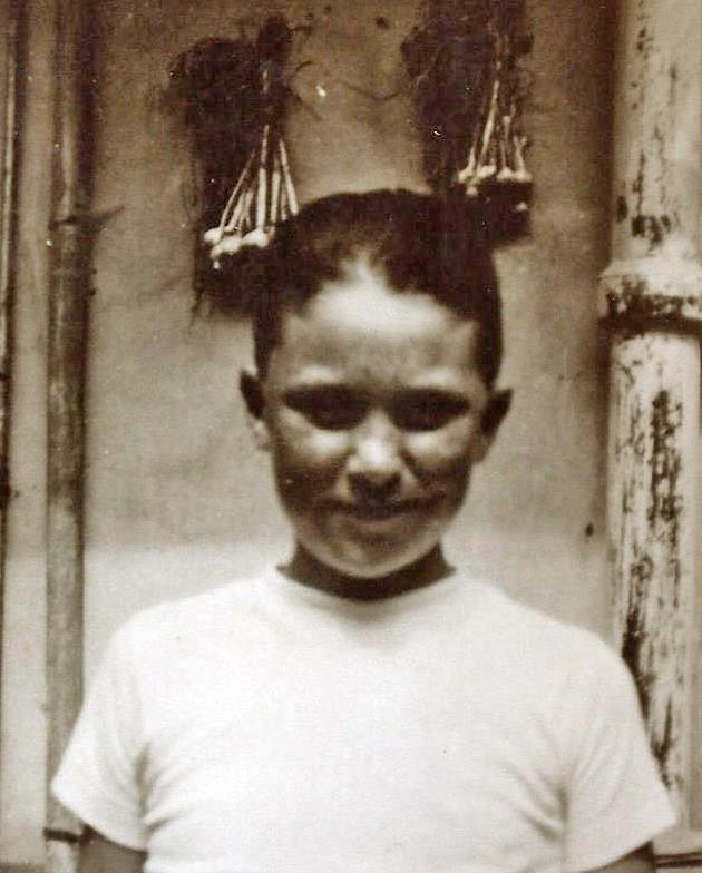 1938, Marcello all'età di 8 anni