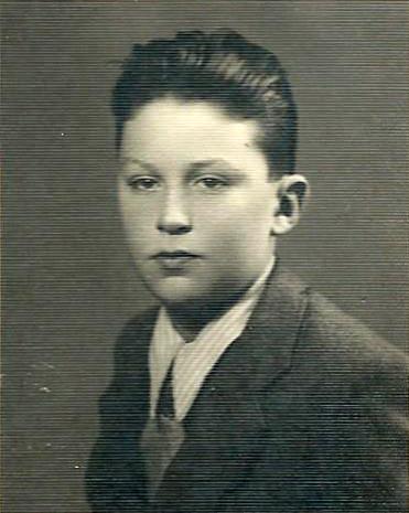 1940, Marcello all'età di 10 anni