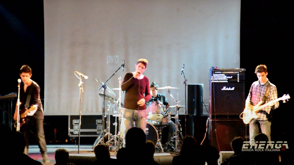 Energa banda rock italiana