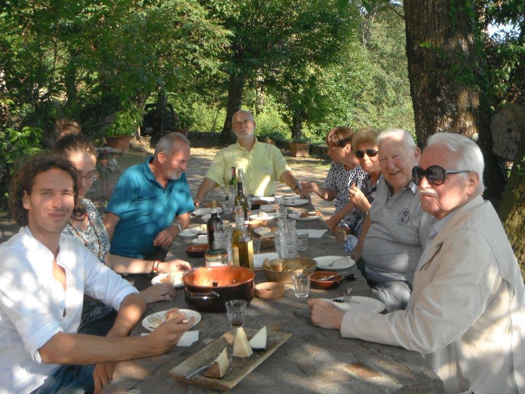 A tavola con Leopoldo Gasparotto e Daniel Vogelmann