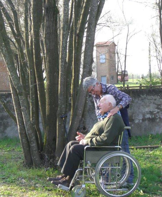 Marcello con la figlia Alessandra