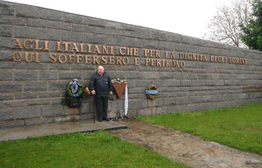 Marcello a Mauthausen nel 2013