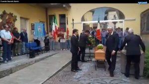 Addio a Marcello - I funerali pubblici con rito civile, al Comune di Castellamonte (TO)