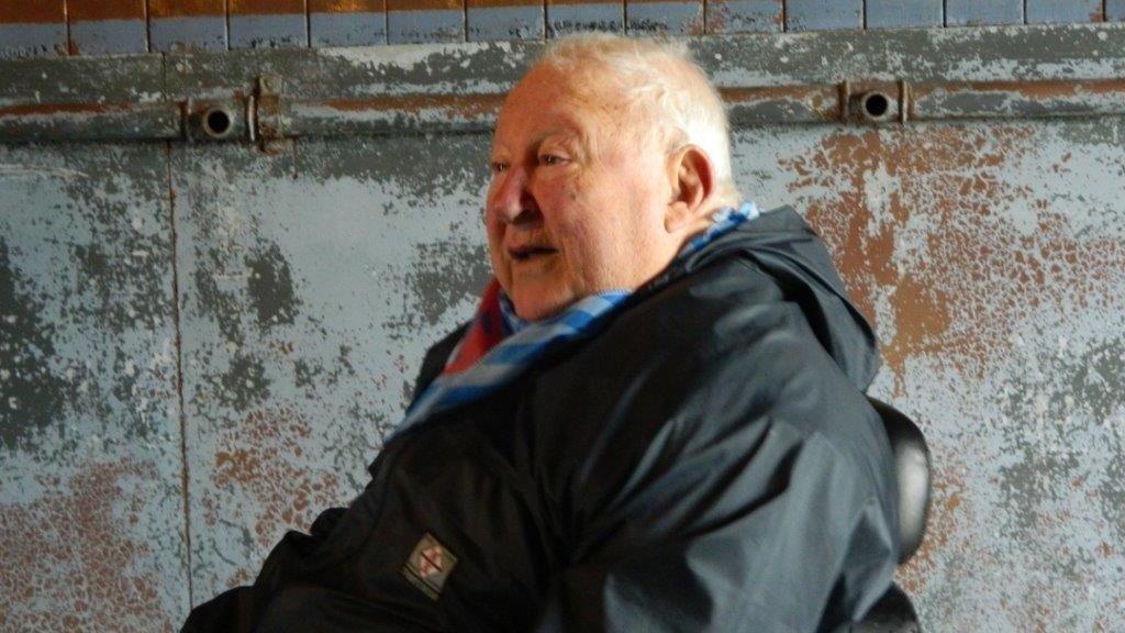 Marcello Martini a Mauthausen nel 2013