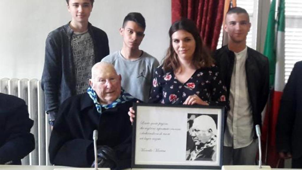 Marcello Martini riceve la cittadinanza onoraria