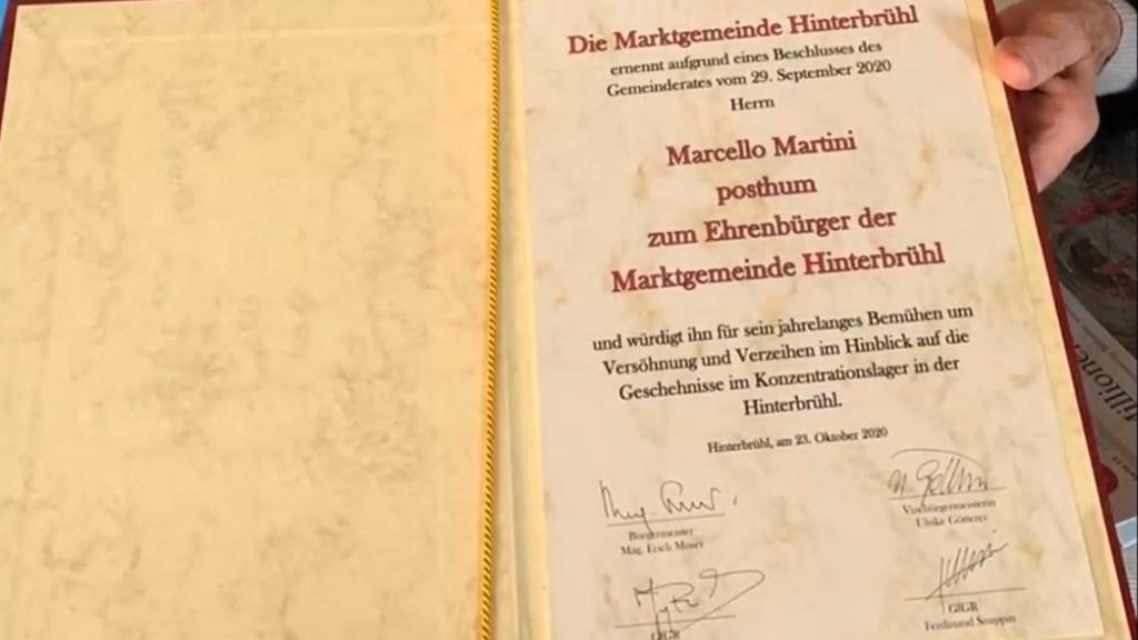 Cittadinanza onoraria di Hinterbruhl