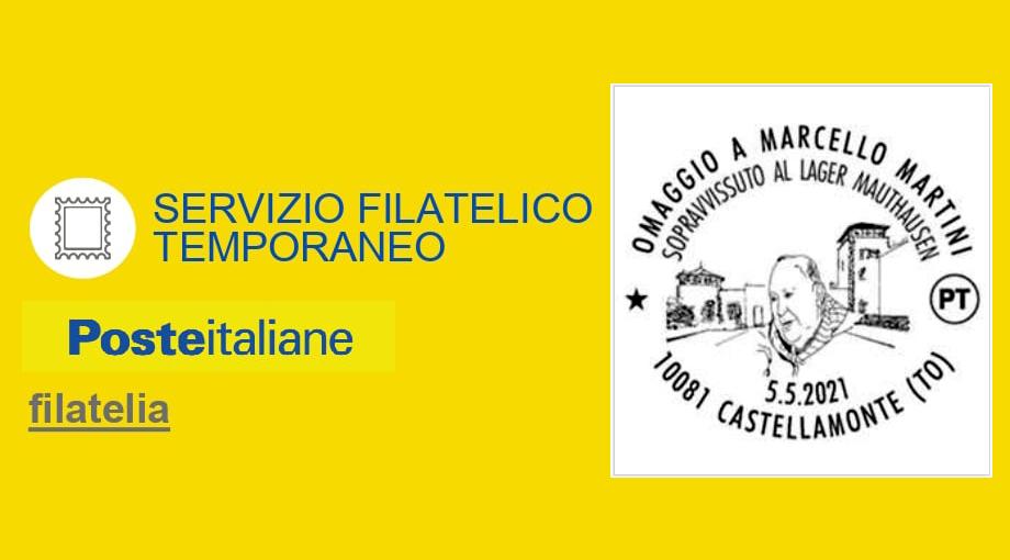 Annullo Filatelico speciale per Marcello Martini